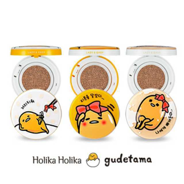 Gudetama BB Face 2 Change Cushion