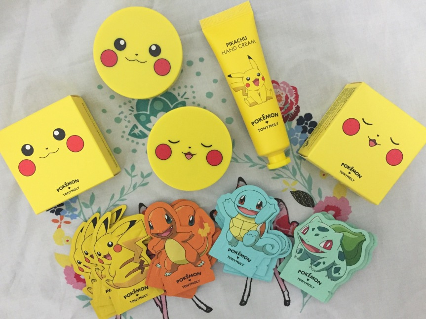 Tony Moly X Pokemon 2016