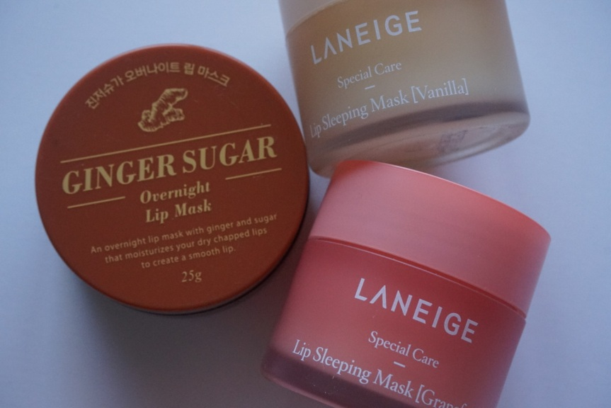 Battle of the Lip Masks – Laneige Special Care Lip Sleeping Pack vs Aritaum Ginger Sugar Overnight Lip Mask