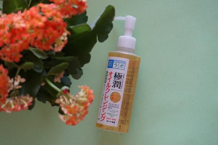 Hada Labo Rohto Gokujyun Oil Cleanser
