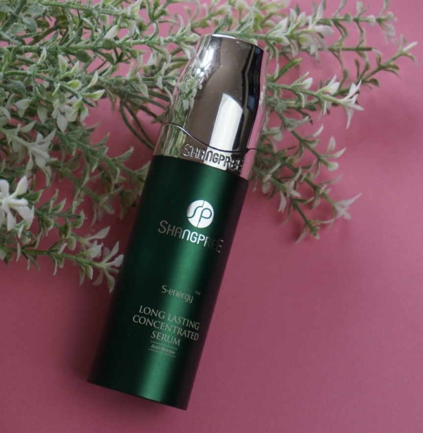 Silk in a bottle: SHANGPREE S-Energy Long Lasting Concentrated Serum