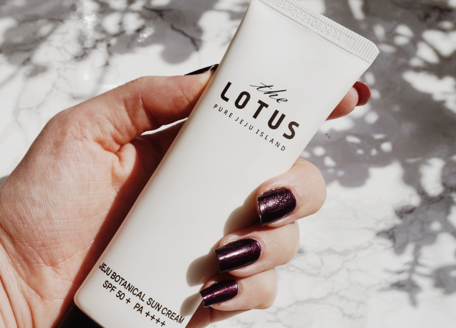 The Pure Lotus Jeju Botanical Sunscreen